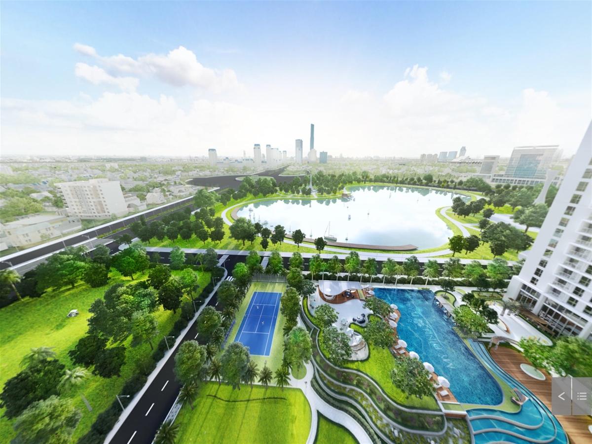 Căn hộ chung cư có sân vườn được mong chờ nhất 2019