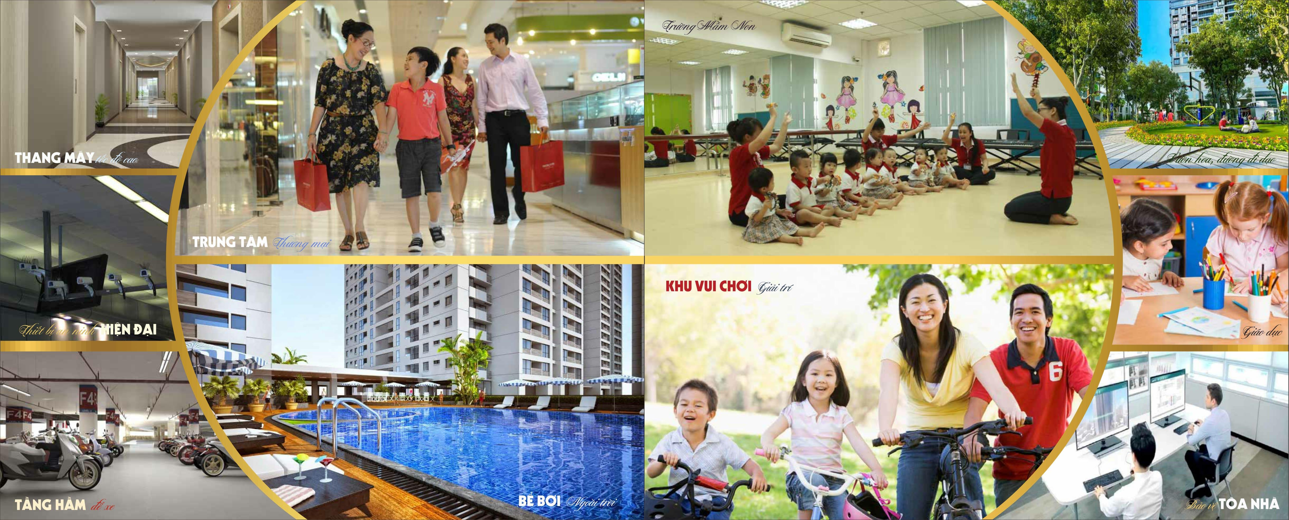 Các tiện ích nội khu của chung cư cao cấp